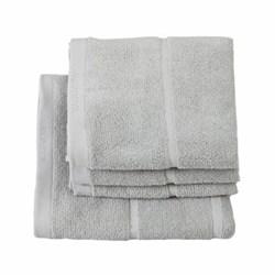 Adagio Hand towel, 55 x 100cm, silver grey