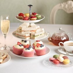 Champagne tea for two