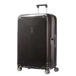 Neopulse Spinner suitcase, 81cm, metallic black