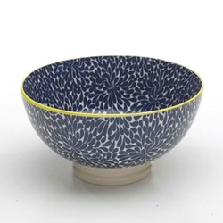 Tue Set of 6 medium bowls, 15.2cm, blue