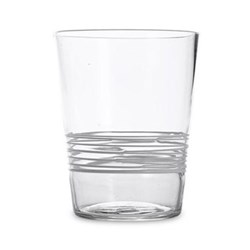 Filante Set of 6 tumblers, 40cl, clear