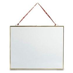 """Kiko Hanging frame - landscape, 8 x 10"""", antique brass"""
