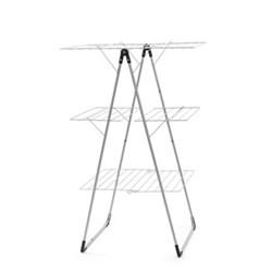 Drying rack, 23m, metallic grey