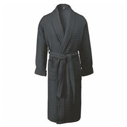 Viggo Bath gown, small, dark grey