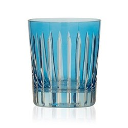 Shining Star Pair of double old fashioned tumblers, 28cl, sky blue