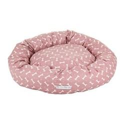 Bones Donut bed, large, 81cm, heather
