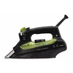 DW6010 - Eco Focus Steam iron, 2.4 kW, green and black