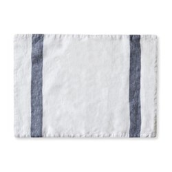 Placemat, 32 x 47cm, arles charcoal stripe
