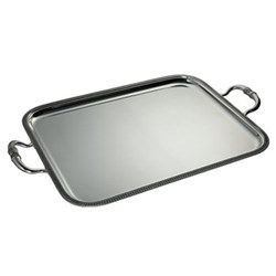 Empire Serving tray with handles, 57 x 48cm