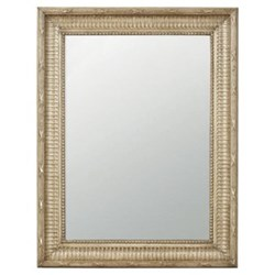 Kinvara Distressed wall mirror, W68 x H89cm