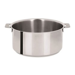 Mutine Saucepan without handles, D16cm - 1.6 litre, stainless steel