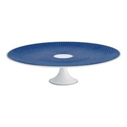 Tresor Bleu Large petit four stand, 27cm
