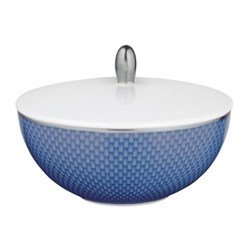Tresor Bleu Sugar bowl