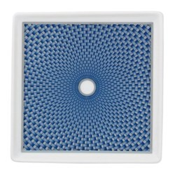 Tresor Bleu Small tray, 11 x 11cm