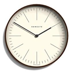 Mr Clarke Wall clock, Dia53cm, dark stain finish