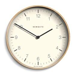 Mr Clarke Wall clock, Dia53cm, pale wood finish