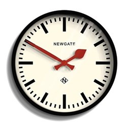 The Luggage Wall clock, Dia30cm, black