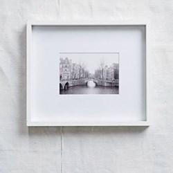 "Fine Wood Photograph frame, 5 x 7"", white"