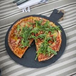 Pizza board, L42 x W35 x H0.5cm, slate