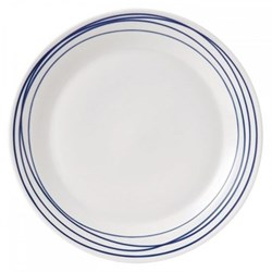 Pacific - Lines Dinner plate, 28cm, blue
