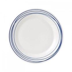 Pacific - Lines Dessert plate, 23cm, blue