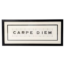 CARPE DIEM Medium frame, 51 x 20cm
