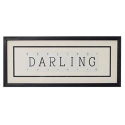 DARLING Medium frame, 51 x 20cm
