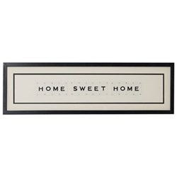 HOME SWEET HOME Large frame, 76 x 20cm