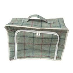 Green Tweed Cooler bag, 48 x 33 x 28cm