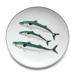 Seaflower Collection Charger plate, 32cm, Mackerel