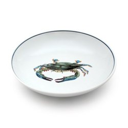 Seaflower Collection Salad bowl, 19cm, Blue Crab