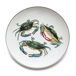Seaflower Collection Charger plate, 32cm, Blue Crab
