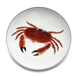 Seaflower Collection Charger plate, 32cm, Crab