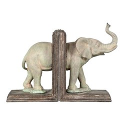 Tembo Pair of bookends, W15 x D12 x H20cm