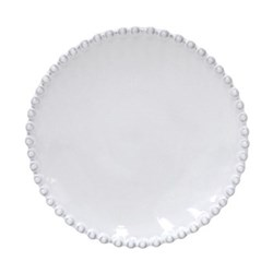 Pearl Set of 6 bread plates, 17cm, white