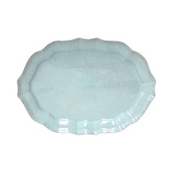 Impressions Large oval platter, L45 x W32 x H4cm, turquoise