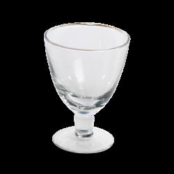 Dansi Glass, 13 x 9cm, clear glass