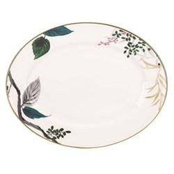 Birch Way Oval platter, 33cm