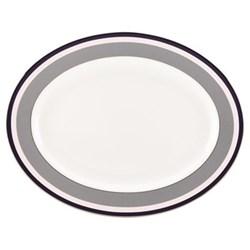 Mercer Drive Oval platter, 40cm