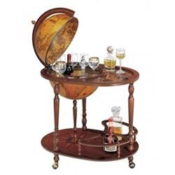 Zoffoli Bar globe, 40cm, antique