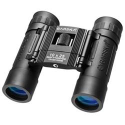 Lucid View Binoculars 10x25, black