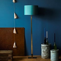 Trafalgar Floor lamp - base only, H144cm, antique brass