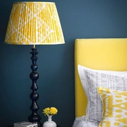 Bobboli Table lamp - base only, H64 x W15cm, blue