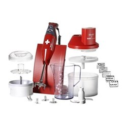 Superbox Hand blender, 200W, red