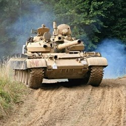 Tank driving experience fund