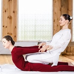 Thai massage for two