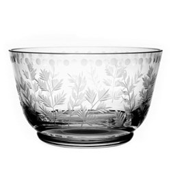 Fern Berry bowl, 11.5cm, clear