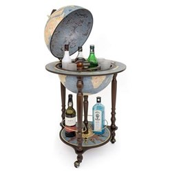 Zoffoli - Da Vinci Bar globe, 40cm, blue dust