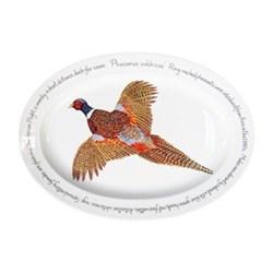 Ring-neck Pheasant Oval platter, 39 x 26cm
