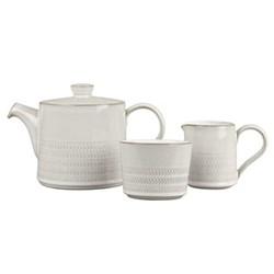 Natural Canvas 3 piece tea set